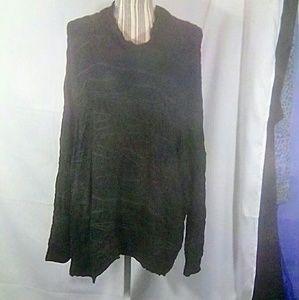 Oska Black Long Sleeve Top Size 2, (US 8/10)